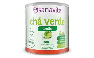Chá Verde Sanavita – Limão