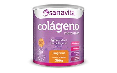Colágeno Hidrolisado Sanavita – Tangerina