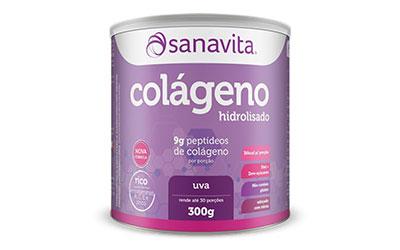 Colágeno Hidrolisado Sanavita – Uva