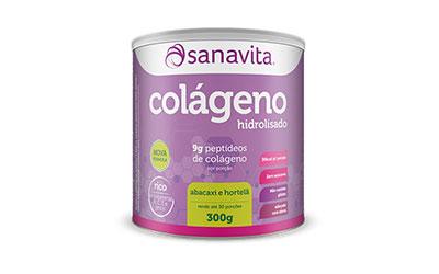 Colágeno hidrolisado – Abacaxi e Hortelã